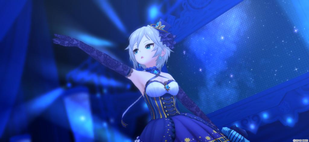 Nebula Skyを歌うアーニャ