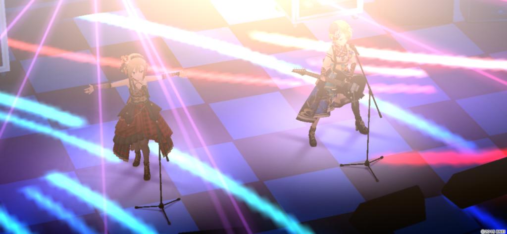 Rock the Beatのステージ